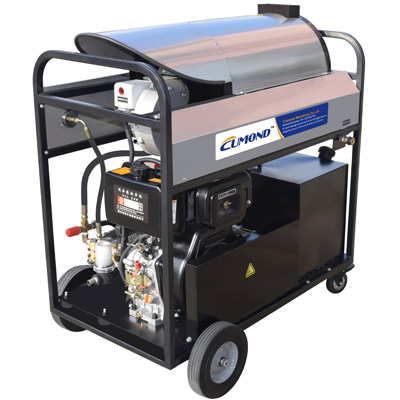 Outdoor mobile industrial jet cleaner high pressure high temperature CW-DW25M