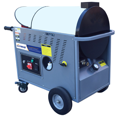 Diesel heating industrial hot water high pressure water cleaner CW-DW18