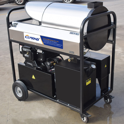 Out door mobile diesel heating hot water and steam industrial high pressure cleaners CW-DSW10