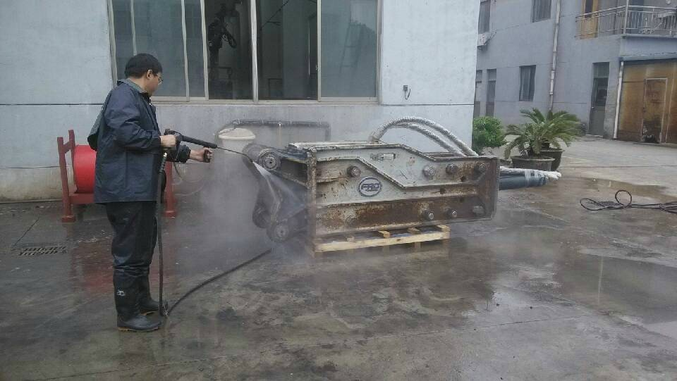 Mobile electric steam hot and cold water pressure machine