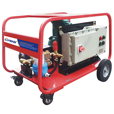 350 Bar 1500 W electric driven industrial cold water explosion-proof high pressure cleaner CW-EC35E
